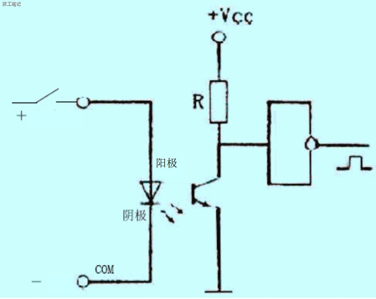 plc输入点的形式和接法